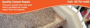 carpet repairs Christchurch