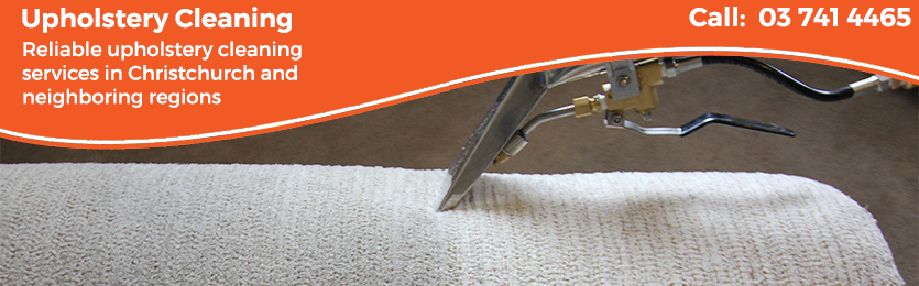 Upholstery cleaners in Christchurch